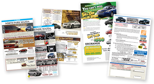 Automotive Direct Mail Staffed Event Automotive Sales